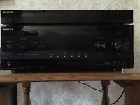 Sony Multi Channel A/V Receiver STR-DN1030 and Sony Blu-ray Disc/DVD Player BDP-57200