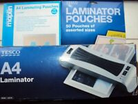 Tesco A4 Laminator + Pouches Pick up Hillsborough or Stocksbridge