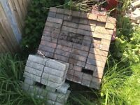 Block paving bricks x200 or more new un used free to pick up