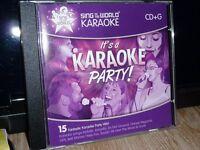 KARAOKE PARTY CDG DISC