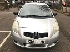 MINT CONDITION 2007 TOYOTA YARIS 1.0 MANUAL,LOW MILES 55000 FULL HISTORY,DRIVES SUPERB