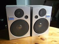 Pair Sharp bookshelf speakers