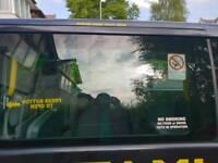 Mercedes vito window glass