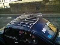 Vintage vw beetle roof rack