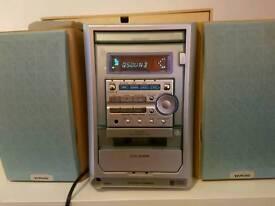 Aiwa CD system