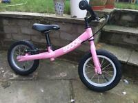 Pink Scoot balance bike York