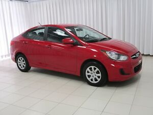 2013 Hyundai Accent MANUAL SEDAN WITH ABS BRAKES, TILT STEERING,