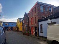 Rare opportunity! Three music studios in The Hidden Lane, Finnieston!