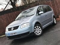 **LOW MILEAGE** VOLKSWAGEN TOURAN 7 SEATER 1.9 TDI FULL SERVICE HISTORY