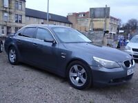 BMW 525 SPORT 04 PLATE GUNMETAL GREY TOTALY ORIGINAL CAR FULL BLACK LEATHER LONG MOT MINT CON MAYpx