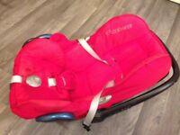 Maxicosi baby car seat. Excellent condition.