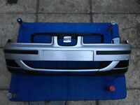 Seat Leon Silver mk1 2003 Front Bumper in good condition for sale