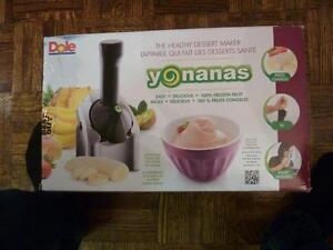 Yonanas 200-Watt Frozen Dessert Maker - Silver