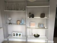 Wall shelving. Cagliari make.