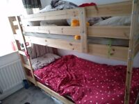 IKEA kids bung bed with matres for sale