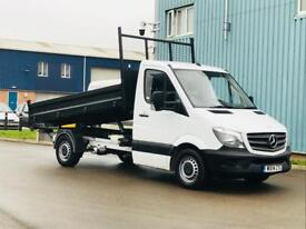 MERCEDES-BENZ SPRINTER 313 CDI 'LWB - TIPPER' (2014 FACELIFT) '130 BHP - 6 SPEED' *1 OWNER FROM NEW*