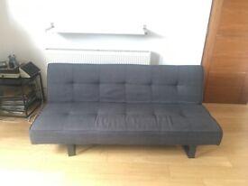 Grey Sofa Bed -- Good Condition