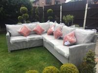 Brand new Praslin Rattan Garden Sofa