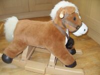 Rocking Horse - great for toddler - good clean condition from smoke and pet free home