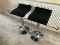 Two quality breakfast bar stools for sale