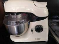 Russell Hobbs food mixer with blender attachment
