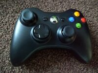 Xbox 360 controller black like new