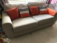DFS 3 seater sofa (3 years old)