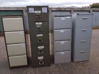 Steel Stationery 2 & 4 Drawer Filing Cabinets from £10