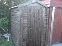 traditional reclaimed shed