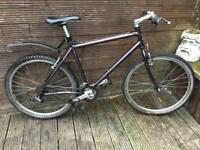 Adult Raleigh c-max lightweight mountain bike with 24 gears