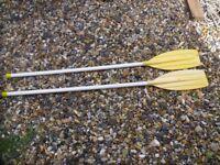 2 x oars