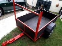 5ft x 3.3ft car trailer