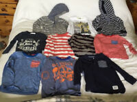 Bundle of boys age 2-3 year old tops mostly hardly worn collect kirkintilloch