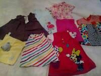 BUNDLE GIRLS CLOTHES 3/6 MONTHS