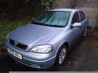 2002 Silver Astra 4 door 1.6 petrol