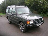 LANDROVER DISCO 300TDI 1998 AUTO -- GOOD MECHANICALLY RUNS AND PULLS WELL--new battery rad cambelt