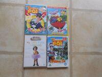 Children's DVD's Bundle of 4 (3)