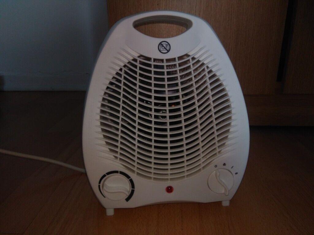 daewoo fan heater flat 2000w