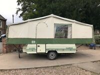 Pennine Clubman Folding Camper Trailer Tent With Awning & Extras