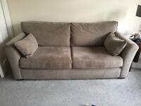 Mink 3 Seater Sofa