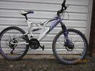 Small full suspension bike for sale