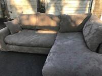 Amazing luxury corner fabric sofa