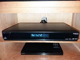 Humax Foxsat-HDR Satellite HD Digital Television 500GB Freesat+ Recorder