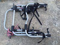 Halfords Rear High Mount 3 Cycle Bike Carrier Rack