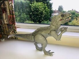Jurassic World Indominus Rex Dinosaur with motion, lights and sounds