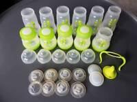 Set of MAM baby bottles