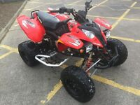 POLARIS PREDATOR 500 ROAD LEGAL QUAD BIKE 2010 Ltr yfz banshee ltz