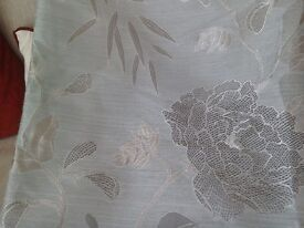 CURTAINS, LOUNGE, M&S FULLY LINED MADE TO MEASURE.