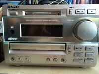 Sony HCD-MD373 Compact integrated CD/Mini Disc/Radio + Speakers