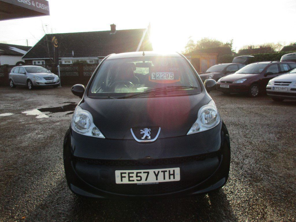 Peugeot 107 1.0 petrol £20 a year road tax 5 door black | in Diss ...